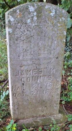 COUNTS, JAMES MADISON - Lawrence County, Missouri   JAMES MADISON COUNTS - Missouri Gravestone Photos