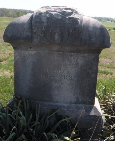 COX, MILTON B - Lawrence County, Missouri | MILTON B COX - Missouri Gravestone Photos