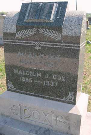 COX, WALES M - Lawrence County, Missouri | WALES M COX - Missouri Gravestone Photos