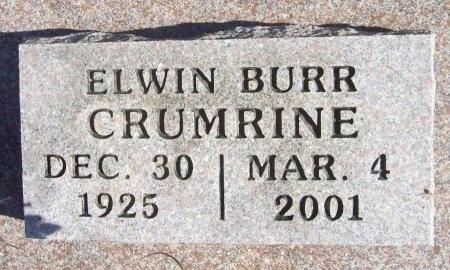 CRUMRINE, ELWIN BURR - Lawrence County, Missouri   ELWIN BURR CRUMRINE - Missouri Gravestone Photos