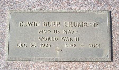 CRUMRINE, ELWIN BURR (VETERAN-WWII) - Lawrence County, Missouri   ELWIN BURR (VETERAN-WWII) CRUMRINE - Missouri Gravestone Photos