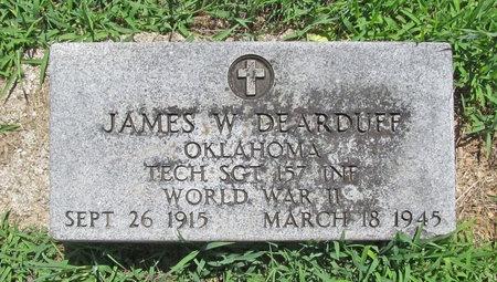 DEARDUFF, JAMES W VETERAN WWII - Lawrence County, Missouri | JAMES W VETERAN WWII DEARDUFF - Missouri Gravestone Photos
