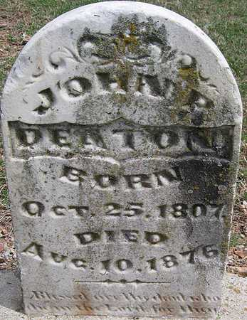 DEATON, JOHN P - Lawrence County, Missouri   JOHN P DEATON - Missouri Gravestone Photos