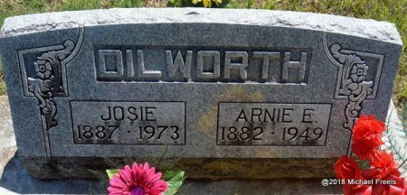 DILWORTH, JOSIE - Lawrence County, Missouri | JOSIE DILWORTH - Missouri Gravestone Photos
