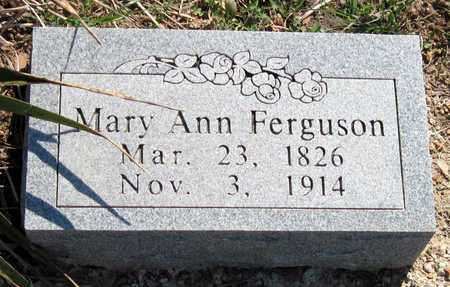 FERGUSON, MARY ANN - Lawrence County, Missouri | MARY ANN FERGUSON - Missouri Gravestone Photos