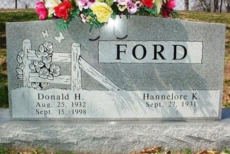 FORD, DONALD H. - Lawrence County, Missouri | DONALD H. FORD - Missouri Gravestone Photos