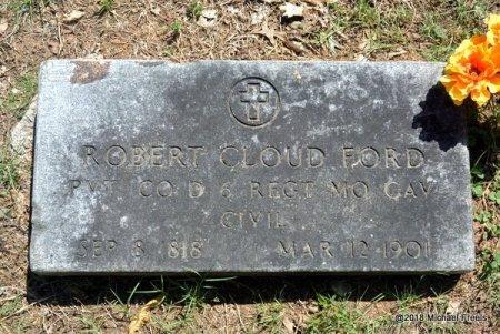 FORD, ROBERT CLOUD (VETERAN CIVIL WAR) - Lawrence County, Missouri | ROBERT CLOUD (VETERAN CIVIL WAR) FORD - Missouri Gravestone Photos