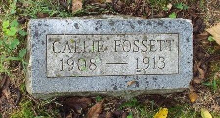 FOSSETT, CALLIE - Lawrence County, Missouri | CALLIE FOSSETT - Missouri Gravestone Photos