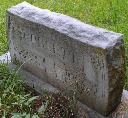 FOSSETT, HENRY - Lawrence County, Missouri | HENRY FOSSETT - Missouri Gravestone Photos