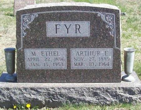 FYR, MARY ETHEL - Lawrence County, Missouri | MARY ETHEL FYR - Missouri Gravestone Photos