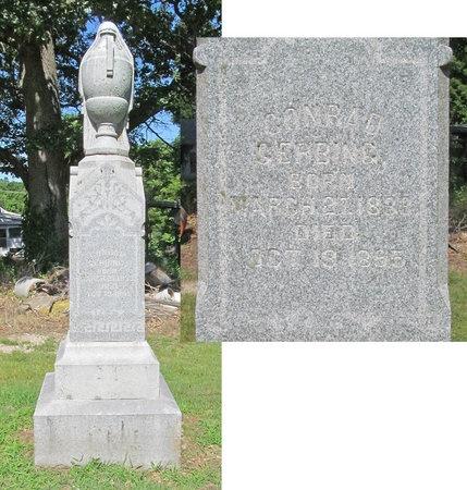 GERBING, CONRAD - Lawrence County, Missouri   CONRAD GERBING - Missouri Gravestone Photos