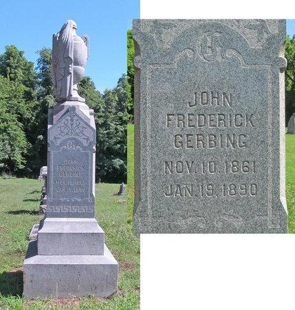 GERBING, JOHN FREDERICK - Lawrence County, Missouri   JOHN FREDERICK GERBING - Missouri Gravestone Photos