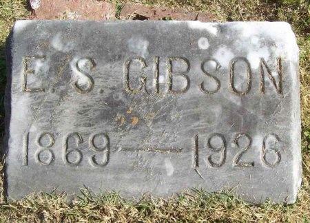 GIBSON, EDWIN STANTON - Lawrence County, Missouri   EDWIN STANTON GIBSON - Missouri Gravestone Photos