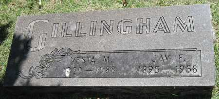 GILLINGHAM, JAY F - Lawrence County, Missouri | JAY F GILLINGHAM - Missouri Gravestone Photos