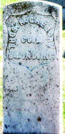 GREGORY, THOMAS R VETERAN UNION - Lawrence County, Missouri | THOMAS R VETERAN UNION GREGORY - Missouri Gravestone Photos