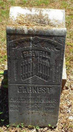 GRIMES, EARNEST - Lawrence County, Missouri   EARNEST GRIMES - Missouri Gravestone Photos