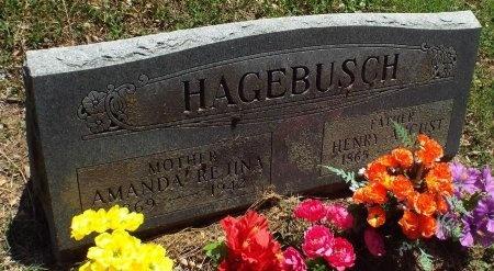 HARMON HAGEBUSCH, AMANDA REGINA  - Lawrence County, Missouri | AMANDA REGINA  HARMON HAGEBUSCH - Missouri Gravestone Photos