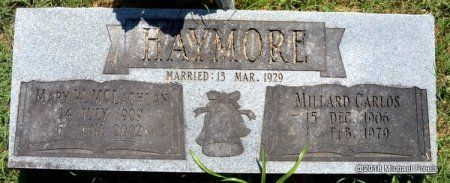 HAYMORE, MILLARD CARLOS - Lawrence County, Missouri | MILLARD CARLOS HAYMORE - Missouri Gravestone Photos