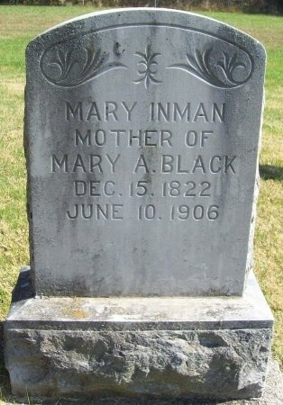 INMAN, MARY - Lawrence County, Missouri | MARY INMAN - Missouri Gravestone Photos
