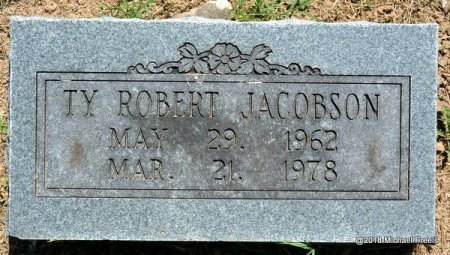 JACOBSON, TY ROBERT - Lawrence County, Missouri | TY ROBERT JACOBSON - Missouri Gravestone Photos