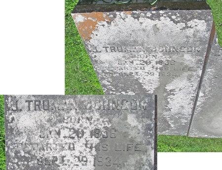 JOHNSON, J TRUMAN - Lawrence County, Missouri | J TRUMAN JOHNSON - Missouri Gravestone Photos