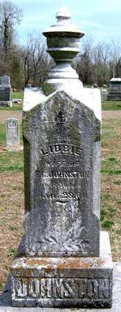 JOHNSTON, LIBBIE - Lawrence County, Missouri   LIBBIE JOHNSTON - Missouri Gravestone Photos