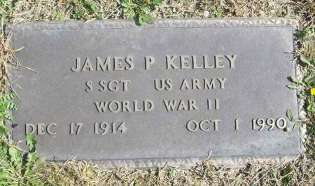 KELLEY, JAMES P. (VETERAN WWII) - Lawrence County, Missouri | JAMES P. (VETERAN WWII) KELLEY - Missouri Gravestone Photos