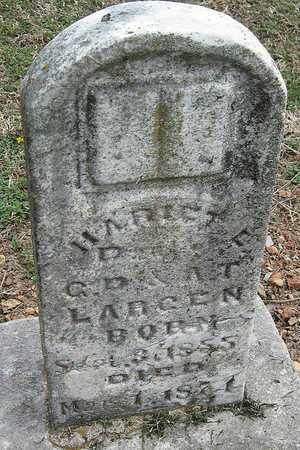 LARGEN, HARRIET E - Lawrence County, Missouri | HARRIET E LARGEN - Missouri Gravestone Photos