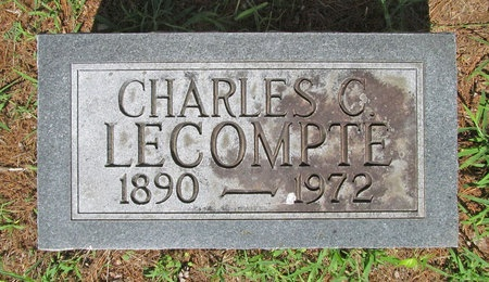 LECOMPTE, CHARLES C - Lawrence County, Missouri   CHARLES C LECOMPTE - Missouri Gravestone Photos