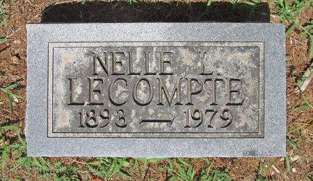 LECOMPTE, NELLE L - Lawrence County, Missouri   NELLE L LECOMPTE - Missouri Gravestone Photos