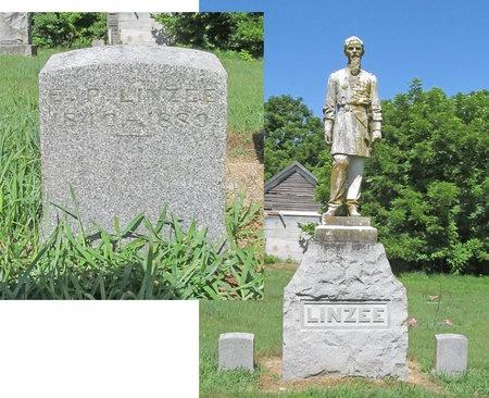 LINZEE, ERSKINE P VETERAN CW - Lawrence County, Missouri   ERSKINE P VETERAN CW LINZEE - Missouri Gravestone Photos