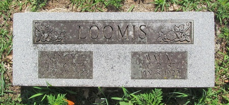 LOOMIS, WILLIAM MARRELL - Lawrence County, Missouri | WILLIAM MARRELL LOOMIS - Missouri Gravestone Photos