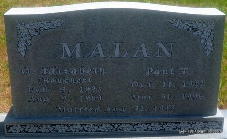 MALAN, PAUL T. - Lawrence County, Missouri | PAUL T. MALAN - Missouri Gravestone Photos