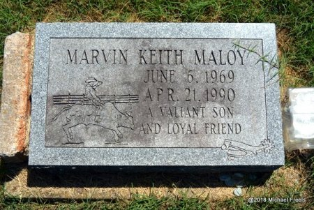 MALOY, MARVIN KEITH - Lawrence County, Missouri | MARVIN KEITH MALOY - Missouri Gravestone Photos