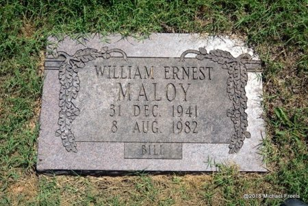 """MALOY, WILLIAM ERNEST """"BILL"""" - Lawrence County, Missouri 