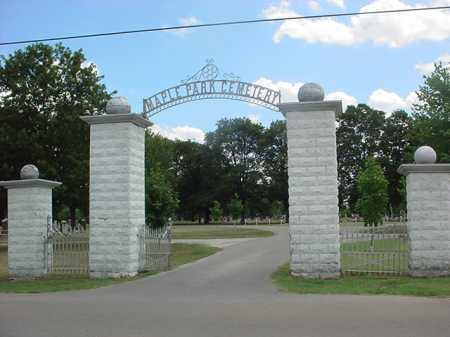 *MAPLE PARK CEMETERY, . - Lawrence County, Missouri | . *MAPLE PARK CEMETERY - Missouri Gravestone Photos