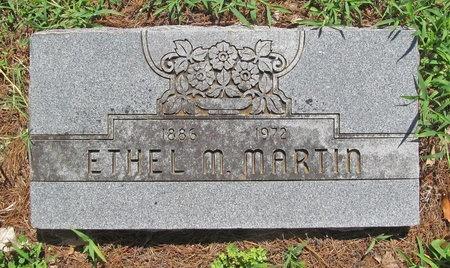 MARTIN, ETHEL M - Lawrence County, Missouri   ETHEL M MARTIN - Missouri Gravestone Photos