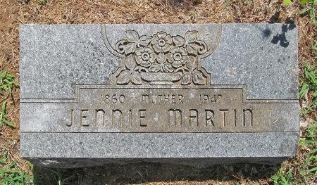 BREEDING MARTIN, JENNIE - Lawrence County, Missouri   JENNIE BREEDING MARTIN - Missouri Gravestone Photos