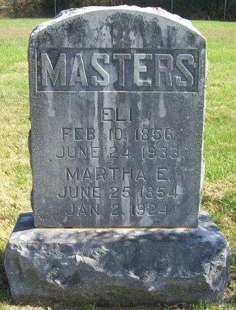 MASTERS, ELI - Lawrence County, Missouri | ELI MASTERS - Missouri Gravestone Photos
