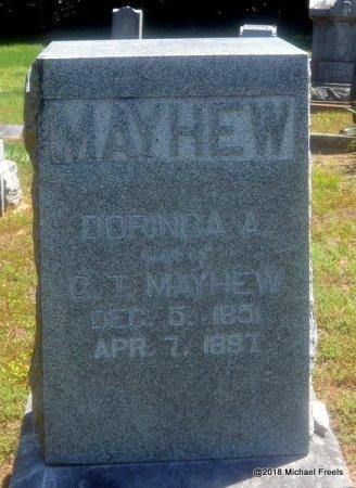 MAYHEW, DORINDA A. - Lawrence County, Missouri   DORINDA A. MAYHEW - Missouri Gravestone Photos