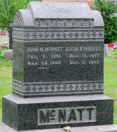 MCNATT, ELIZA ELLEN - Lawrence County, Missouri | ELIZA ELLEN MCNATT - Missouri Gravestone Photos