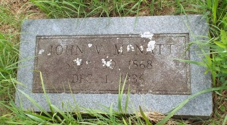 MCNATT, JOHN V - Lawrence County, Missouri | JOHN V MCNATT - Missouri Gravestone Photos