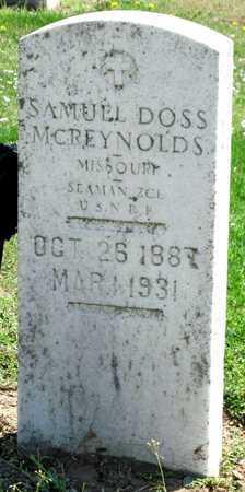 MCREYNOLDS, SAMUEL DOSS VETERAN - Lawrence County, Missouri | SAMUEL DOSS VETERAN MCREYNOLDS - Missouri Gravestone Photos