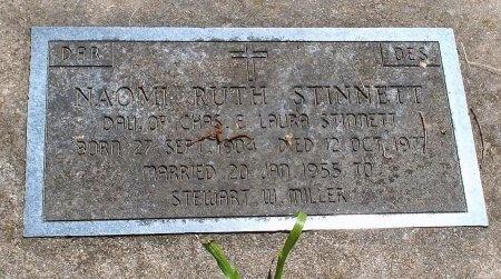 MILLER, NAOMI RUTH - Lawrence County, Missouri | NAOMI RUTH MILLER - Missouri Gravestone Photos