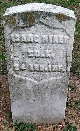 MINER, ISAAC VETERAN UNION - Lawrence County, Missouri | ISAAC VETERAN UNION MINER - Missouri Gravestone Photos