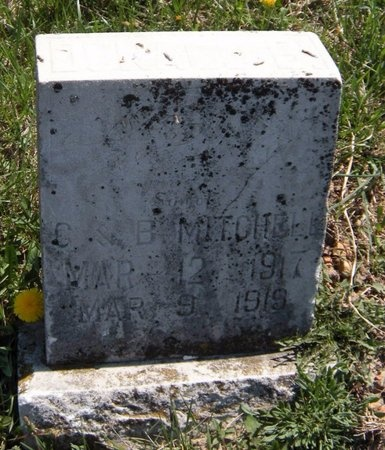 MITCHELL, DONNELL BUSTER - Lawrence County, Missouri | DONNELL BUSTER MITCHELL - Missouri Gravestone Photos