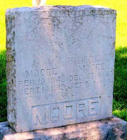 RAGAIN MOORE, SARAH ELIZABETH - Lawrence County, Missouri | SARAH ELIZABETH RAGAIN MOORE - Missouri Gravestone Photos