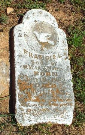 MORRIS, FRANCIS L - Lawrence County, Missouri | FRANCIS L MORRIS - Missouri Gravestone Photos