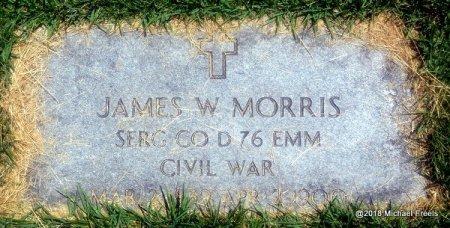 MORRIS, JAMES W. (CIVIL WAR VETERAN) - Lawrence County, Missouri | JAMES W. (CIVIL WAR VETERAN) MORRIS - Missouri Gravestone Photos