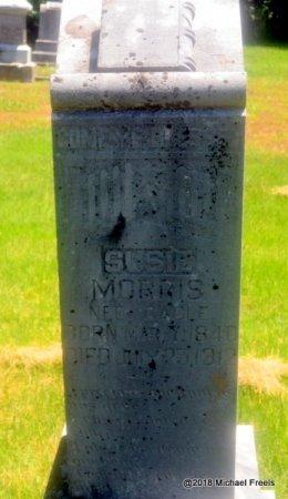 MORRIS, SUSIE - Lawrence County, Missouri | SUSIE MORRIS - Missouri Gravestone Photos